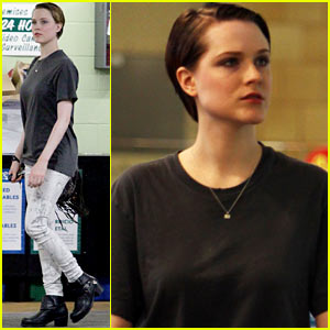 Evan Rachel Wood Steps Out After Giving Birth to Baby Boy