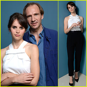 Felicity Jones & Ralph Fiennes: 'The Invisible Woman' Portraits!
