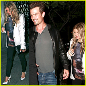 Fergie Debuts Post-Baby Body at Dinner with Josh Duhamel!