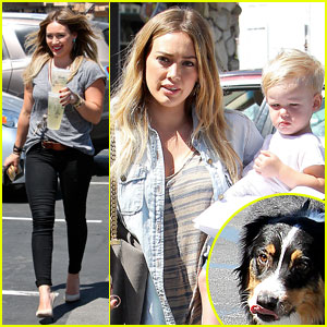 Hilary Duff Hits Starbucks After Vet Visit