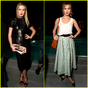 Ireland Baldwin & Suki Waterhouse: DSquared2 Cocktail Party!