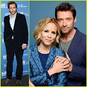 Jake Gyllenhaal & Hugh Jackman: 'Prisoners' TIFF Photo Call!