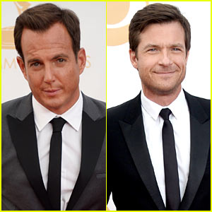 Jason Bateman & Will Arnett - Emmys 2013 Red Carpet