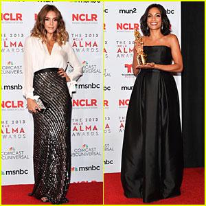 Jessica Alba & Rosario Dawson: NCLR ALMA Awards Babes!