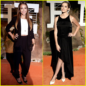Jessica Alba & Teresa Palmer: Hermes Boutique Opening After Party!