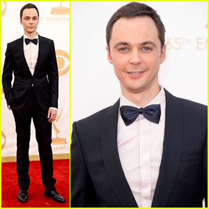 Jim Parsons - Emmys 2013 Red Carpet