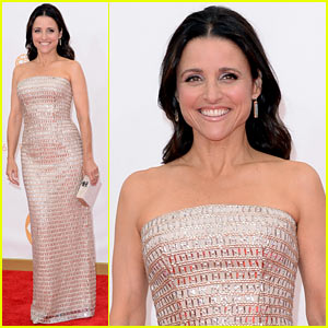Julia Louis-Dreyfus - Emmys 2013 Red Carpet