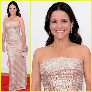 Julia Louis-Dreyfus - Emmys 2013 Red Carpet