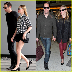 Kate Bosworth & Michael Polish Jet Off to Germany!