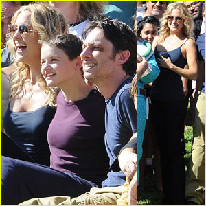 Kate Hudson & Zach Braff Wrap 'Wish I Was Here'