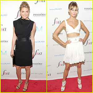 Kate Upton & Karlie Kloss: Fashion Media Awards!