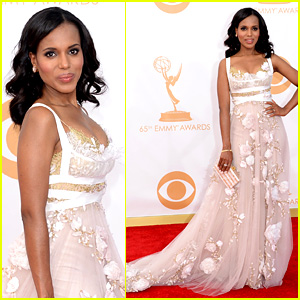 Kerry Washington - Emmys 2013 Red Carpet