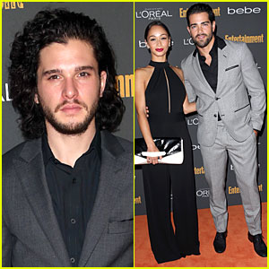 Kit Harington & Jesse Metcalfe: EW Pre-Emmy Party!