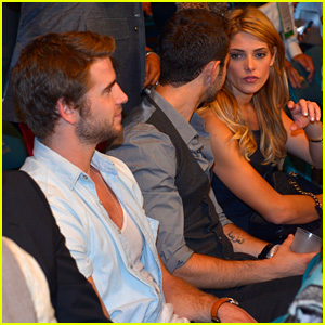 Liam Hemsworth Hung Out with Ashley Greene Amid Split