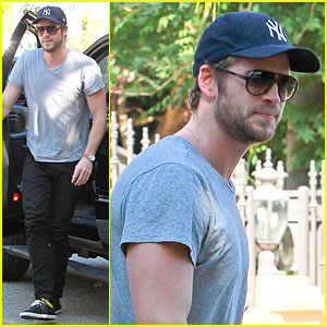 Liam Hemsworth Visits Friend After Unfollowing Miley Cyrus