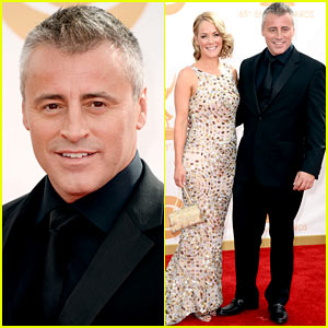 Matt LeBlanc: Emmys 2013 Red Carpet with Andrea Anders