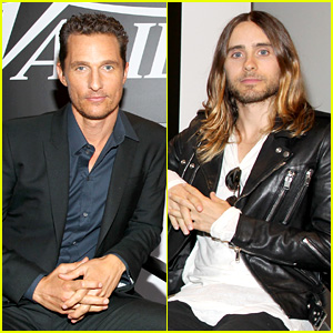 Matthew McConaughey & Jared Leto: Variety Studio at TIFF!