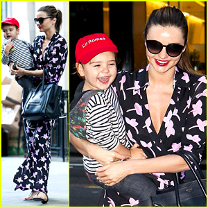 Miranda Kerr Steps Out with Her 'Lil Romeo' Flynn!
