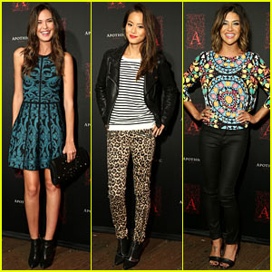 Odette Annable & Jamie Chung: Apothic Dark Wine Launch!