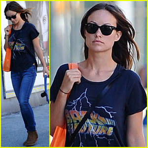 Olivia Wilde: I Wear Patchouli, So What!