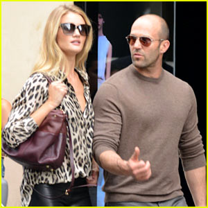 Rosie Huntington-Whiteley & Jason Statham Hold Hands After Split Rumors