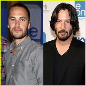 Taylor Kitsch & Keanu Reeves: Entertainment One Party!