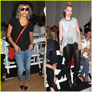 Zoe Kravitz & Iggy Azalea: Sass & Bide Fashion Show!