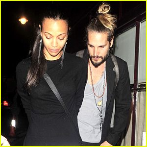 Zoe Saldana & Marco Perego Step Out Amid Wedding Rumors