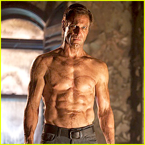 Aaron Eckhart: Shirtless & Ripped for 'I, Frankenstein' Trailer!