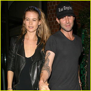 Adam Levine & Behati Prinsloo: Mr. Chow Date Night!