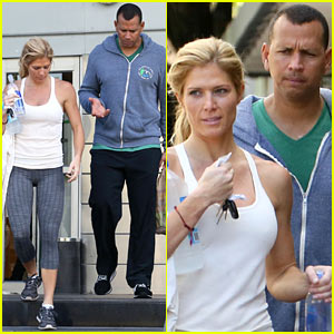 Alex Rodriguez: Gym with Torrie Wilson After Whistleblower Block