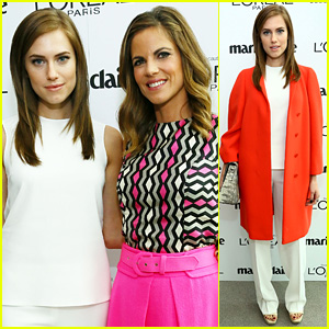 Allison Williams: Marie Claire's Power Women Lunch!