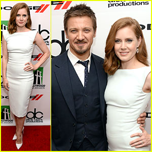 Amy Adams & Jeremy Renner: Hollywood Film Awards 2013!