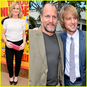 Amy Poehler & Owen Wilson: 'Free Birds' Hollywood Premiere!