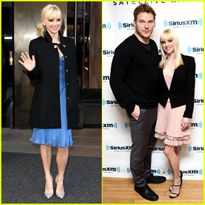 Anna Faris & Chris Pratt Do Promo Together in New York City