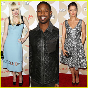 Anna Faris & Michael B. Jordan: People's 'Ones To Watch' Party!