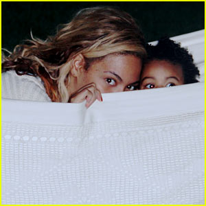 Beyonce & Blue Ivy Play Peek-a-Boo in New Tumblr Pics!