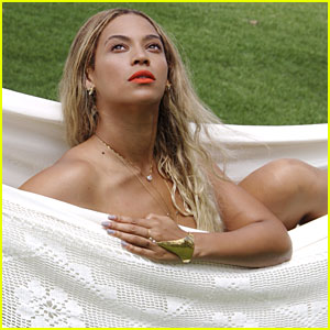 Beyonce Goes Nude in a Hammock!