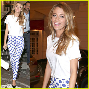 Blake Lively: Hotel Balzac Dinner After L'Oreal Announcement