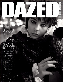 Chloe Moretz Goes Gothic Chic for 'Dazed & Confused' Cover