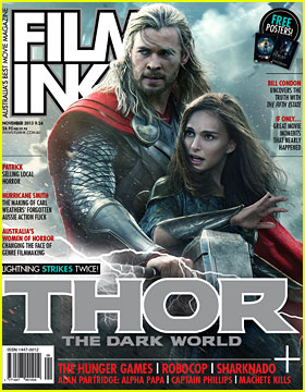 Chris Hemsworth & Natalie Portman: 'Thor' Covers 'FilmInk' November 2013