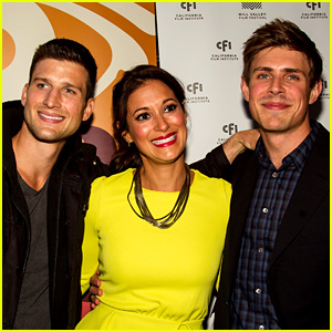 Chris Lowell: 'Beside Still Waters' Premiere with 'Enlisted' Buds!