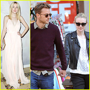 Dakota Fanning: National Arts Awards After Jamie Strachan Stroll