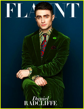Daniel Radcliffe Covers 'Flaunt' Magazine November 2013
