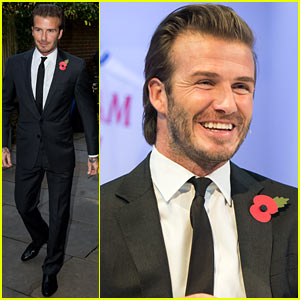 David Beckham: Facebook's Digital Signature Event!