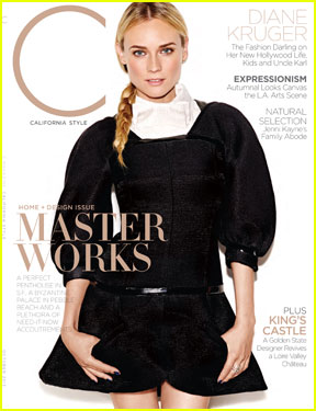 Diane Kruger Covers 'C' Magazine October 2013