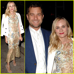 Diane Kruger & Joshua Jackson: CFDA & Vogue Fashion Fund Dinner!