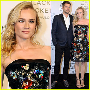 Diane Kruger & Joshua Jackson: Chanel's Little Black Jacket Event
