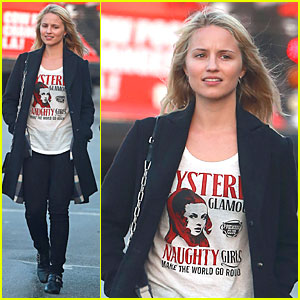 Dianna Agron: Naughty Girls Make the World Go Round!