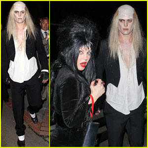 fergie josh duhamel kate hudsons halloween party - Halloween On The Hudson